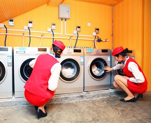 西安轨道交通学校洗衣房